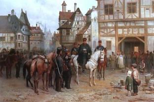 Marshal Blücher in 1813.