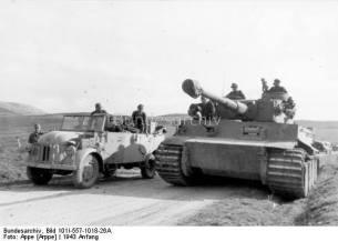 Tiger 1 in Tunisia, 1943.