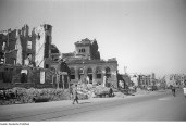 1945 Berlin in ruins after World War II.