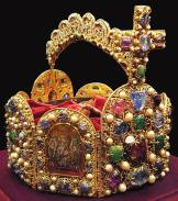 The Imperial Crown of the kings of the Holy Roman Empire.