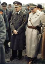 Adolf Hitler and Hermann Göring at the Demonstration of the Hetzer.
