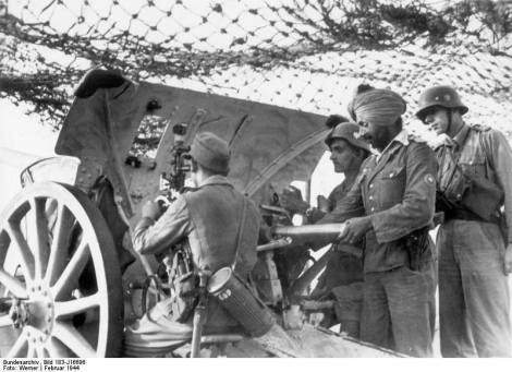 After D-Day, the Indische Legion was transferred from the Heer to Waffen-SS.