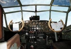 JU-52 cockpit.