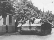 StuG III of the Sturmgeschütz Brigade 303 in Lappeenranta, Finland late June 1944.