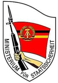 Stasi emblem.