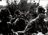 13th Waffen Mountain Division of the SS Handschar (1st Croatian) in action.