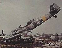 Bf 109 wreck.