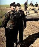 Generalmajor Adelbert Schulz wearing camouflage uniform.