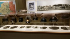 World War 1 exhibit at the Neville Public Museum in Green Bay, WI, United States.