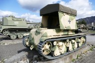 Panzer 35R located in Thun, Switzerland with damage and parts missing. Possibly used in Normandy.
