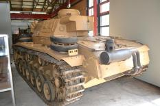 Panzer III at the Deutsches Panzermuseum - German Tank Museum.