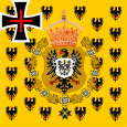 1871–1901 Empress Frederick's Standard and Empress Augusta.