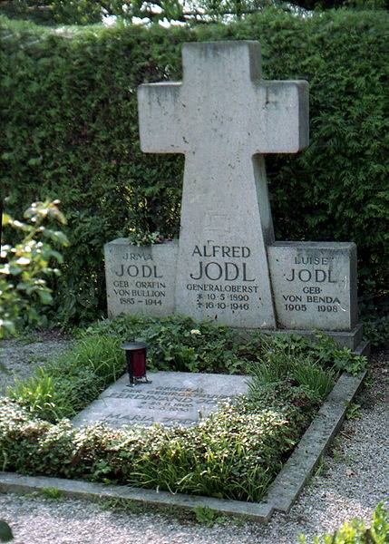 Cenotaph in the family grave in the Fraueninsel Cemetery, in Chiemsee.