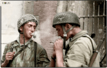 Fallschirmjäger in Florence, Italy. Mid August 1944