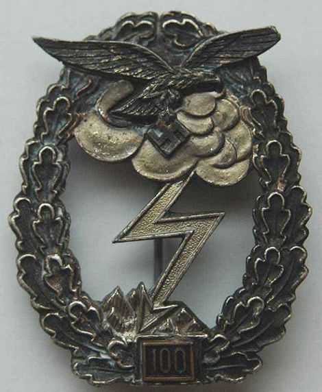 Ground Assault Badge of the Luftwaffe