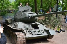 T-34 at Militracks Overloon 2012 - Oorlogsmuseum Overloon, Netherlands..