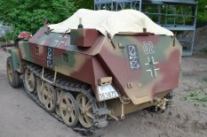 Sd. Kfz. 250 at Militracks Overloon 2012 - Oorlogsmuseum Overloon, Netherlands.