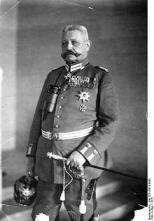 Hindenburg in 1916.