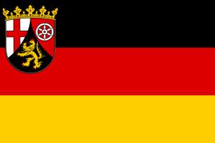 State service flag of Rhineland-Palatinate