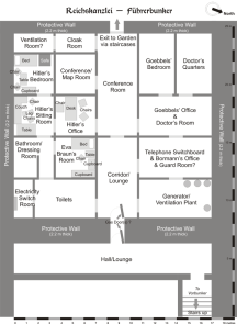 Map of the Bunker.