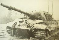Broke down Jagdtiger.