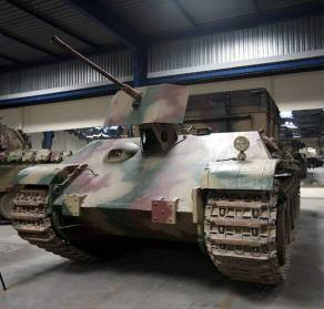 Bergepanther in the Musée des Blindes (France).