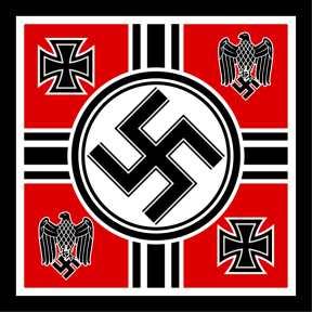 1935–1938 Flag of the Wehrmacht Commander in Chief (replaced the Minister of Defence).