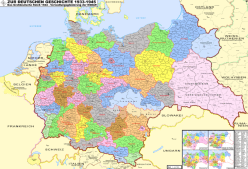 Administrative regions of the Greater Germanic Reich in 1944.