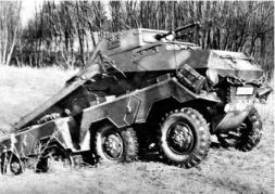 German 8 Rad Sd.Kfz. 231.