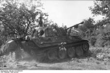 Panther in bocage, Summer 1944, France.