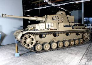 Panzer IV at the Deutsches Panzermuseum - German Tank Museum.