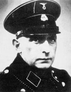 Paul Blobel, an SS colonel.