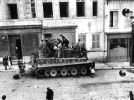Abandoned Tiger, Marle, France late 1944.