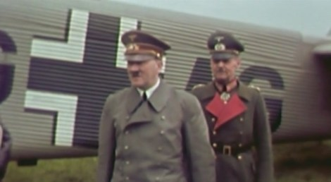 Adolf Hitler and Gerd von Rundstedt.