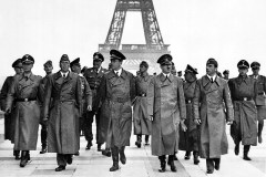 Hitler visits Paris in 1940 with Dietrich.