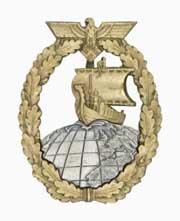 Auxiliary Cruiser Badge
