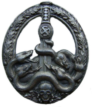 Anti-Partisan Guerrilla Warfare Badge