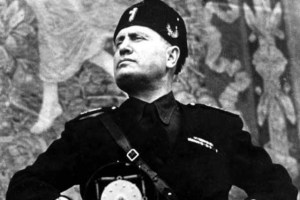 Benito Mussolini was the founder of Fascism and leader of Italy from 1922 to 1943.