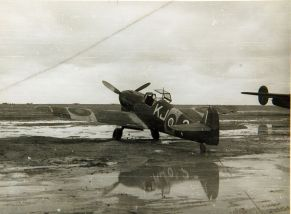 Bf 109F captured by the South African Air Force in 1943.
