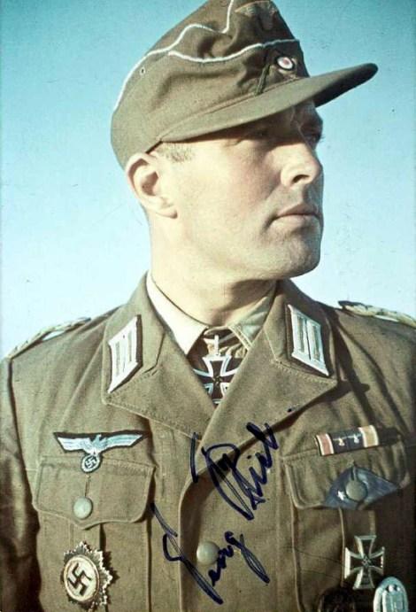 Georg Briel as a Major.