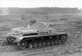 A German PzKpfw IV Ausf. D, c. 1940.