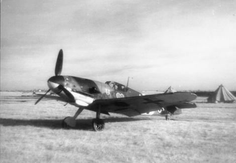 A Bf 109 Gustav.