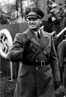 Ruler of the General Government in occupied Poland.
