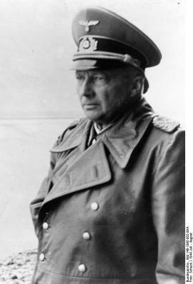 Field Marshal von Kluge on the Western front