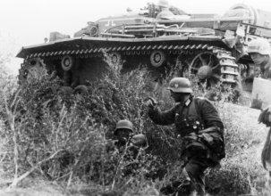 StuG III on the Eastern front.