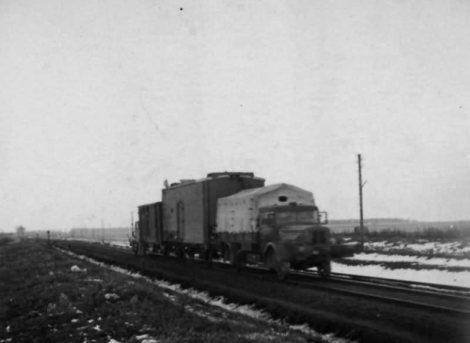 Büssing-NAG type 650 Rail Version.