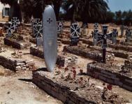 Cemetery in Tunisia, 1943.