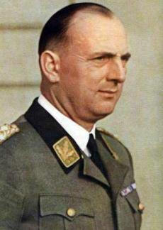 Kurt Daluege as a Colonel General of Police.
