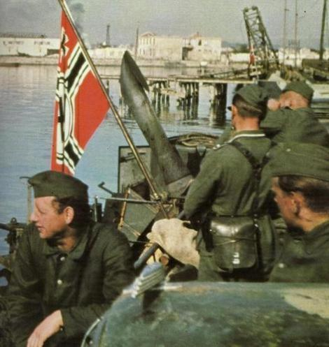 On 7 September 1943, the German 17th Army begins the evacuation of the Kuban bridgehead, across the Strait of Kerch.