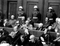 1946 Nuremberg courtroom.
